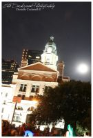 Court House and the Moon by TheDarkRoom-Photo