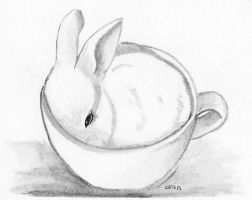 Bun in a Cup by IckyDog