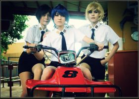 CLAMP SCHOOL DETECTIVES: ATV by rosiael