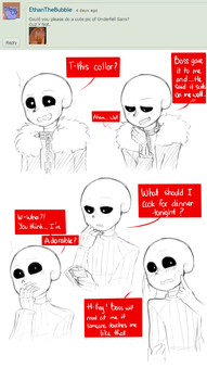 Cute pics of UF Sans by owoSesameowo