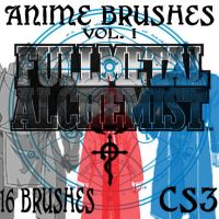 Anime Brushes Vol I: FMA by muutus