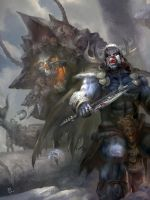Rise of Barbarian by MichaelCTY
