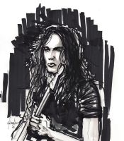 DAVID GILMOUR fron Pink Floyd by crislink