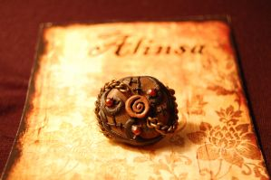 uzumaki steampunk ring by alinsa