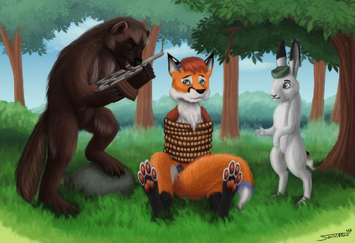[Commission] Furry Revolution by Sa1ntMax