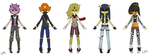 C: Outfits for Resi-Chibi by lesbian-mermaid by Resi-Chibi