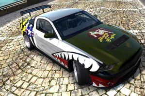 P-51 Ford Mustang Forza stitch by CWRudy