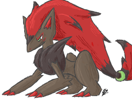 Zoroark by ScyTehScyther