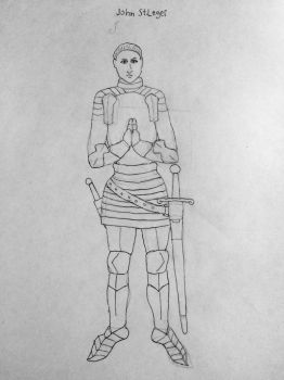 A real knight John st.leger by Norththeicewing