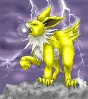 Lightning Storm Jolteon by Silverbirch