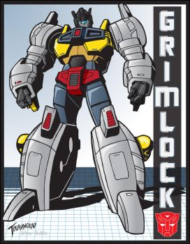 Guido's Victory Grimlock by stourangeau
