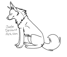 Wolf Makeable -Sitting- by Jaole