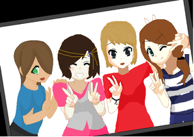 Friends .:collab:. by dobbyluv2