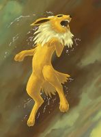 Moar Jolteon by Choedan-Kal