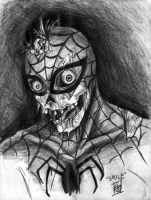 Marvel Zombie Spidey by Shira-chan