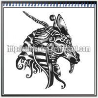 Tattoo Design 049 - Khnum by StriderDen