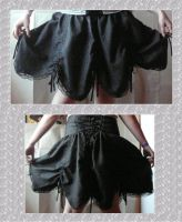 Skirt with lace by kecsy