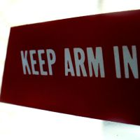Keep Arm In. by AboutTheBirds