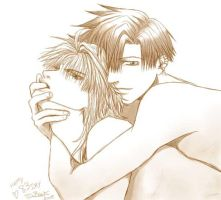 Saiyuki - For 83 day by uberdomkumagoro