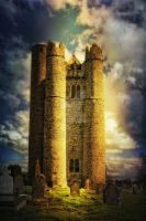 Lusk Round Tower by Flash-and-Flair