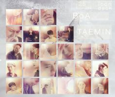 Taemin - BoA Disturbance MV icon pack by e11ie