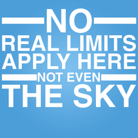 There Are No Limits! by cybervengeance2014
