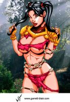 Savage Land Sunfire by Mythical-Mommy
