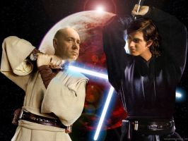 Brandon Routh as Anakin 2 by TheRealImp
