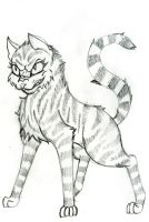 Tigerscar Request for JediWarriorisXion - Pencil by SavannaEGoth