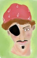 Pirate self portrait by darkervapid
