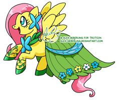 Fluttershy//Gala by alex-heberling