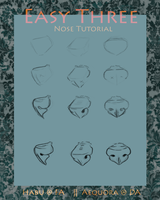 Easy Three: Nose Tutorial by Aequora
