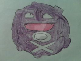 Koffing -colored- by PokeLoverMeso
