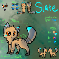 Slate Ref Sheet by Kitzophrenic
