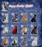 Happy Easter 2015! by ThorinFrostclaw