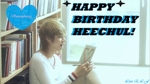 Happy Birthday Kim Heechul! by SungminHiroto