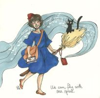 Kiki's delivery service by LilyScribbles