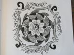 Mandala Flower by dzinesgirl