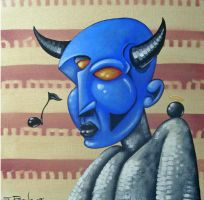 BLUE DEVIL by francisff
