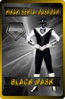 Black Mask by rangeranime
