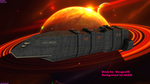 UNSC BRIEDIS ASSAULT DESTROYER by meugen06