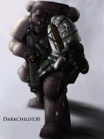 Deathwatch Blackshield by darkchild130