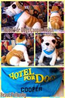 Hotel For Dogs Cooper Plush by BeautifulHusky