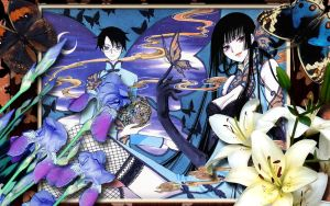 xXxholic butterflies v.1 by Hallucination-Walker