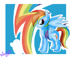 Rainbow Dash :3 by AmaterasuWarrior