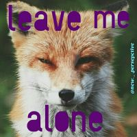 Leave Me Alone by TheSubterraneanYam