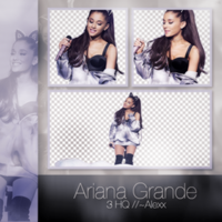 Ariana Grande / Png Pack by Sfaturiptadmini-OFF