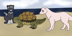 Lotus Turtle by NativeWolf330