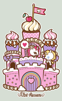 Cupcake Castle by analage