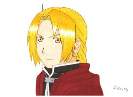 Edward Elric by fictionality33
